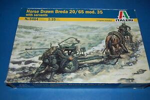 Italeri-6464-Horse-Drawn-Breda-20-65-Mod-35-scala-1-35