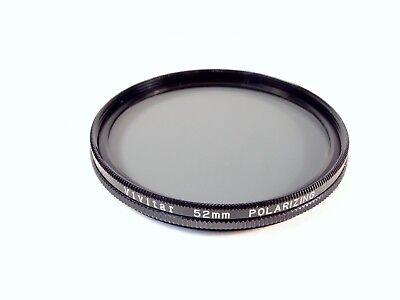 Filtro Polarizador Lineal 52 mm VIVITAR-LIMPIADA Y REVISADO libre UK FRANQUEO