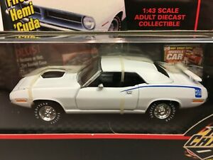 Road Champs 1970 Plymouth HEMI CUDA 1:43 Scale New in ...