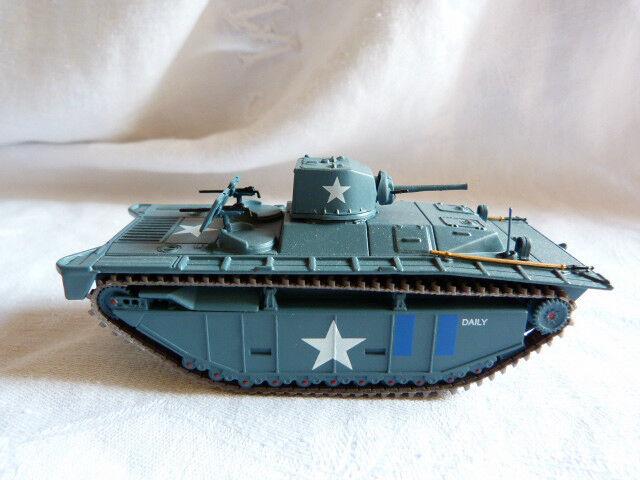 Tank char blindé  2ème guerre mondiale - 1 72 -  A identifier - Batalion US army