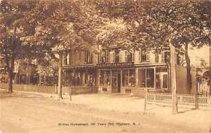 Madison New Jersey Britten Homestead Store Fronts Antique