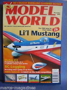 RCMW-RC-MODEL-WORLD-DECEMBER-2004-PETER-MILLER-PLAN-LIL-MUSTANG-BROUSSARD