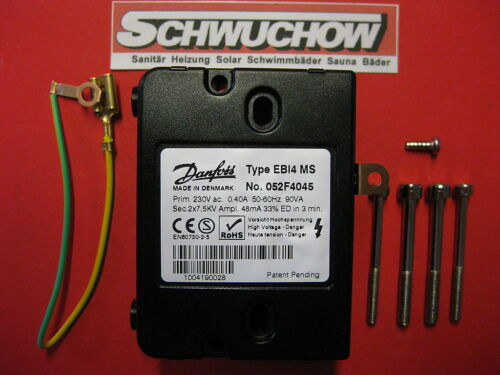 Danfoss Zündtrafo EBI M 052F4045 Elco Oertli Olymp Zündeinheit Zündtransformator