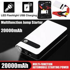 20000mAh 12V Car Jump Starter Portable USB Power Bank Battery Booster Box Clamp