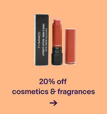 20% offcosmetics & fragrances