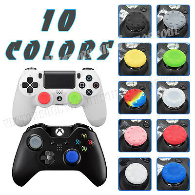 4X PS3 PS4 XBOX ONE 360 Analog Controller Cap Cover Thumb Stick Grip Thumbstick
