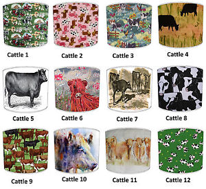 Lampshades-Ideal-To-Match-Highland-Cattle-Cow-Bedding-Sets-amp-Duvets-Covers
