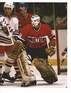 DENIS-HERRON-Autographed-Signed-8-x-10-Photo-Montreal-Canadiens-COA