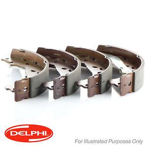 GENUINE 5 YEAR WARRANTY BRAND NEW Delphi Rear Brake Shoe Set LS1232