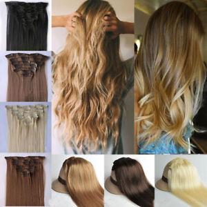 Ash-light-golden-dark-medium-blonde-brown-Hair-Extensions-Clip-in-feels-Human
