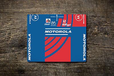 Motorola/eddy Merckx Team Jersey-tappetino Mouse-bike Ninja Ciclismo Su Strada In Stile Retrò- Aspetto Estetico