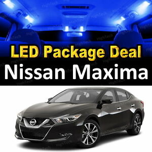 Image Is Loading 11x Blue LED Lights Interior Package Deal For