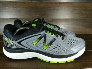 New-Balance-860v8-Mens-US-10-D-Mens-Running-Jogging-Shoes-Grey-Volt-amp-Black