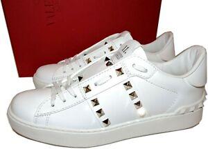 VALENTINO-GARAVANI-Rockstud-Sneakers-Gold-Studs-11-Shoes-38