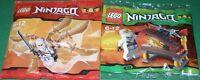 2x Lego Ninjago 2x Ninja Zane Mit Waffen Und Zubehör Ovp