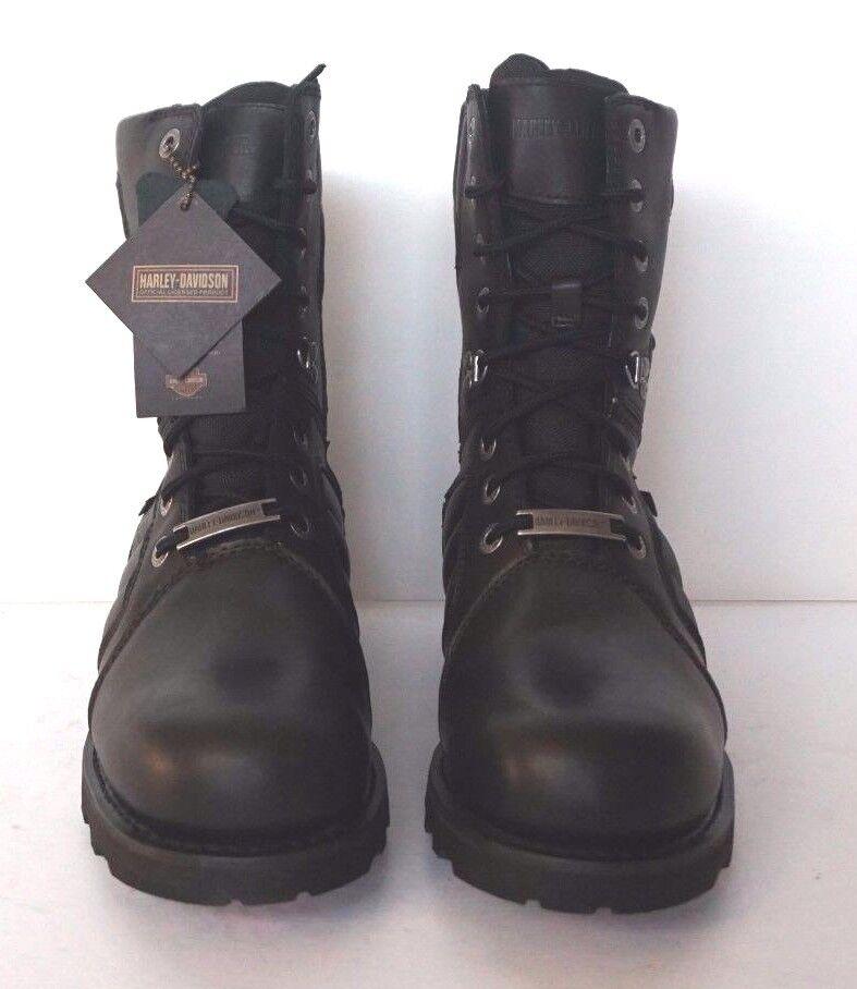 NIB Harley Davidson Vance D96082 schwarz leather Stiefel men Größes 11 12M