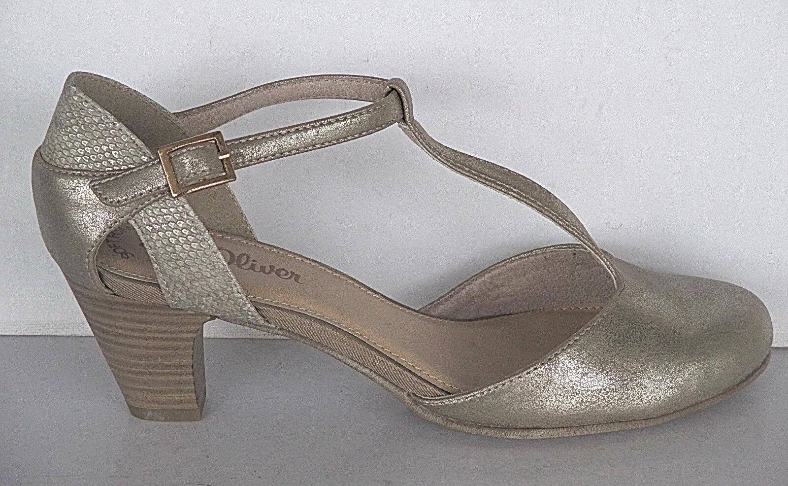 s.Oliver  Schuhe Damen Schuhe Spangenpumps, Gr. 36-40, Art. 5/5-24400-20  ++NEU+