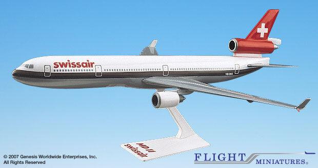 FLIGHT MINIATURES Swissair (OC) (OC) (OC) MD-11 1 200 3bbbea