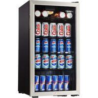 Danby Beverage Center, Stainless Steel, Dbc120bls, Mini Fridge Refrigerator,