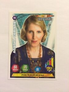 DOCTOR-WHO-ALIEN-ARMIES-TRADING-CARD-GAME-146-AGATHA-CHRISTIE-MINT