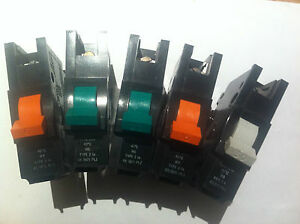 FEDERAL ELECTRIC 15 AMP TYPE 2 M5 MCB CIRCUIT BREAKER STABLOK BNA BNA1015