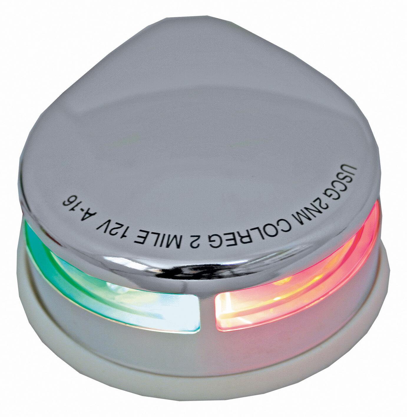 Led Boat Navigation Lights Battery: Boat Navigation Light Stainless Steel Bi-Colour Bow Light