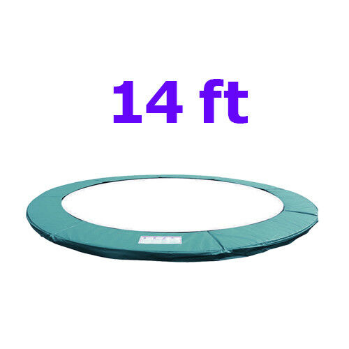 Trampoline Replacement Pad Safety Padding Spring Cover 14ft Green