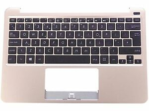 New-Asus-Eee-Book-X205TA-Bronze-UK-Keyboard-Palm-Rest-with-Speakers