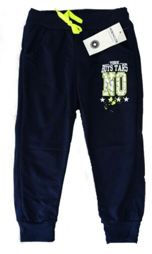 Bambini Pantaloni Bambini Jogging Pantaloni Nuovo giovani jogging pantaloni pantaloni sportivi fino a 164 cool