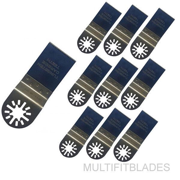 10 x 1-3 8  Tungsten Carbide Universal Saw Blades- Ridgid JobMax, Ryobi JobPlus