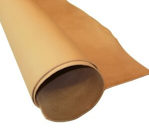 1-8MM-THICK-NATURAL-VEG-TAN-CRAFT-LEATHER-HIDE-VARIOUS-CHOICE-OF-SIZES