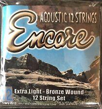 Encore EWS1012 12 String Acoustic Guitar Strings