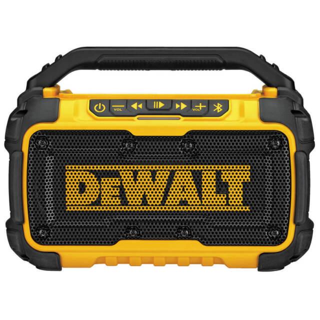 NEW DeWALT DCR010 12-Volt/20-Volt Corded/Cordless Dual Speak