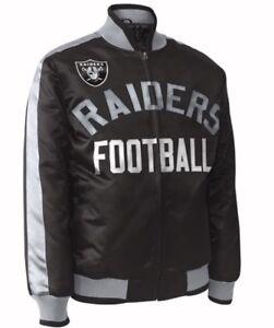 365ef760 Details about Exclusive: Oakland Raiders ShowTime NFL satin jacket