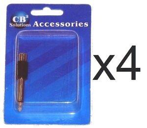 CBI-Female-RCA-Jack-to-Male-1-4-034-Plug-Adapter-Set-of-4