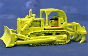 First-Gear-80-0309-IH-TD25-Dozer-Municipal-Services-Green-1-87-Die-cast-MIB
