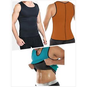 06048b8693 Slimming Belt Belly Men Vest Body Shaper Man Neoprene Abdomen Thermo ...
