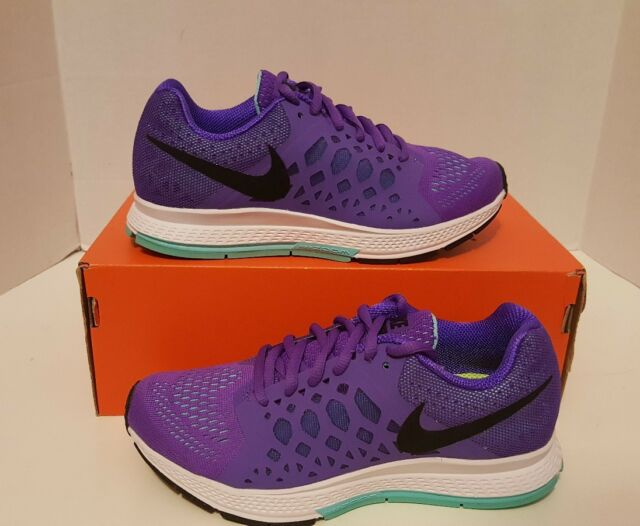 5f101c1072510 Nike Zoom Pegasus 31 Women s Sz 5 654486-500 Grape turq black Air QS ...