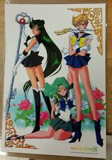 Sailor Moon S Pluto, uranus, Neptune, poster 11x17 laminated.