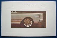Prospekt brochure 1965 Mercury Park Lane * Montclair * Monterey (USA)