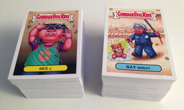 Garbage Pail Kids Mini Cards 2013 Base Card 78b Orange GINA