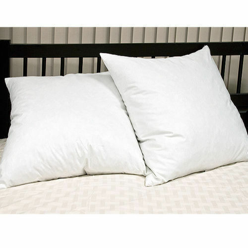 "Luxury Supima Quilted Pillow Protector with Luxury Continental Pillows 26/""x26/"""
