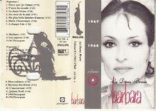 K 7 AUDIO (TAPE) BARBARA *LA DAME BRUNE* (VOLUME 6)