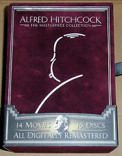 Alfred Hitchcock The Masterpiece Collection 15-Disc DVD Box Set (Used)