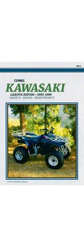 Clymer ATV Repair Manual for Kawasaki KLF 300 Lakota 95-99 M470