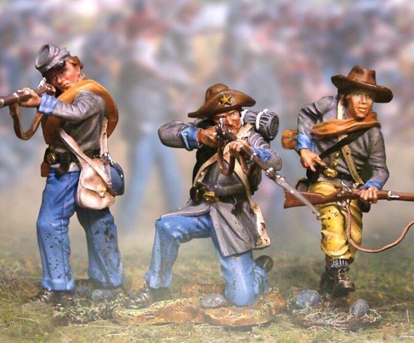 The Collectors ShowFall Bürgerkrieg Konföderierter CS00398 5TH Texas Brennen MIB