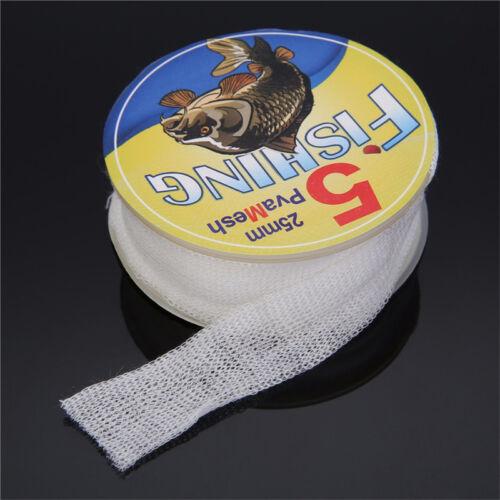 25//37//44mm 5M PVA Mesh Refill Carp Fishing Stocking Boilie Rig Bait Wrap Bags