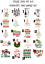 miniatuur 25 - NOEL CHRISTMAS SANTA PAPA LICORNE TRANSFERT T-SHIRT TEXTILE VETEMENTS IRON ON