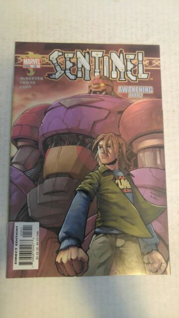 Sentinel #12 April 2004 Marvel Comics Mckeever Vriens Udon