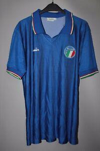 Details about ITALY ITALIA 1990 1991 HOME FOOTBALL SHIRT MAGLIA JERSEY DIADORA